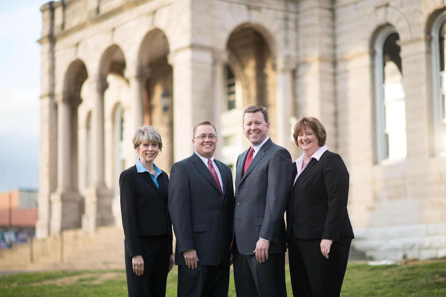 The Four Licensed Agents: Jenny Burden, Brant Suter, Chris Rooker, Cathi Beighe