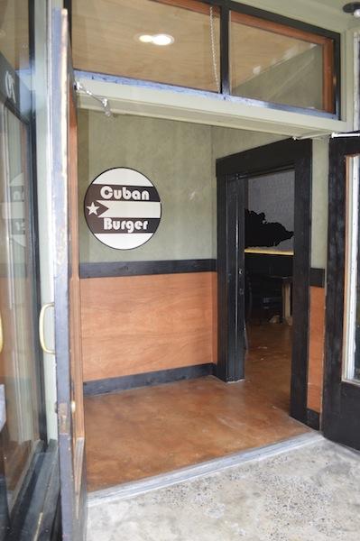 CubanBurger - Front Entrance