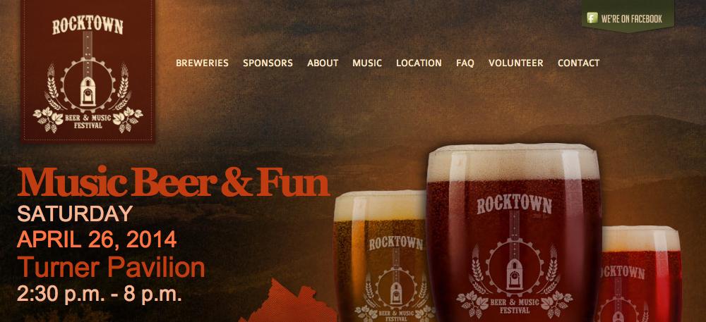 Rocktown Beer & Music Festival   Harrisonburg, VA