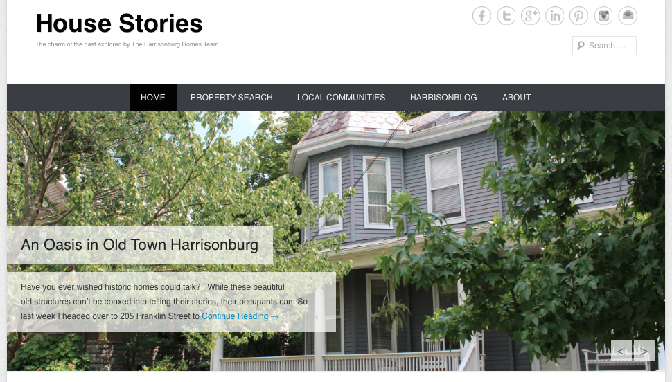 Introducing House Stories: Every House Has a History... We're Here to Tell the Story