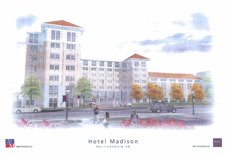 Proposed Downtown Harrisonburg Hotel & Conference Center