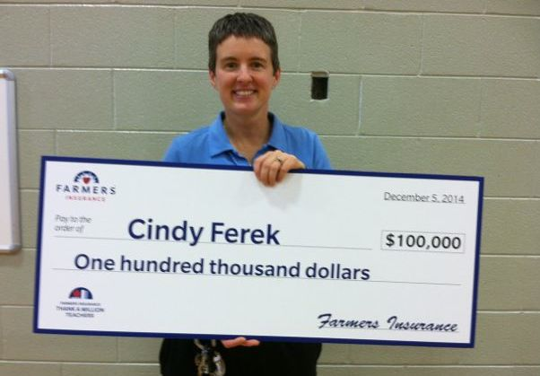 Cindy Ferek wins $100,000 to construct mile-long path around Turner Ashby High School campus for special needs youth