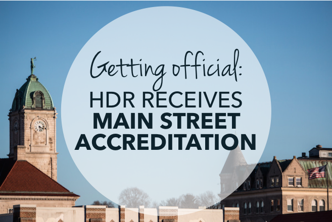 HDR Receives Main Street Accreditation