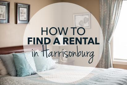 How to find a rental in Harrisonburg