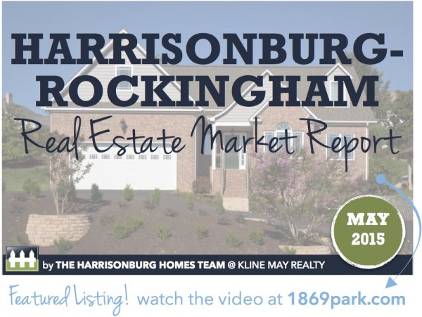 Harrisonburg Real Estate Market Report [INFOGRAPHIC]: May 2015