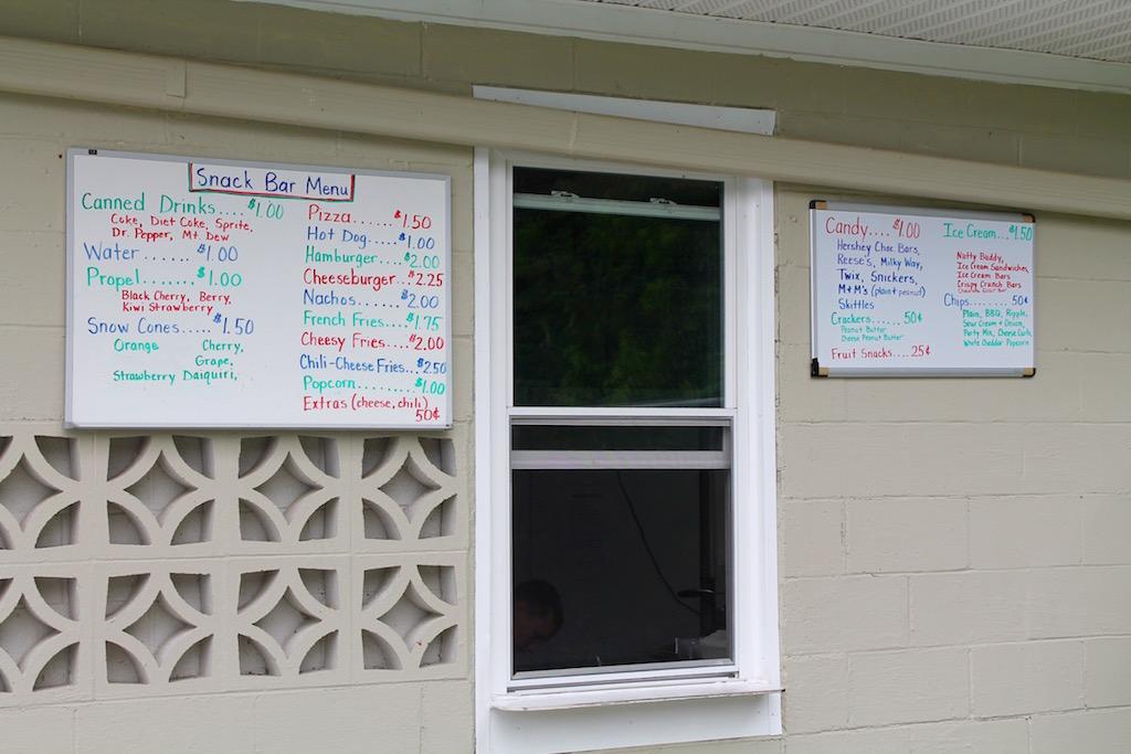 Ashby Recreation Area Snack Bar, Bridgewater, VA