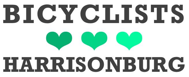 Bicyclists Love Harrisonburg | New City Bike Map