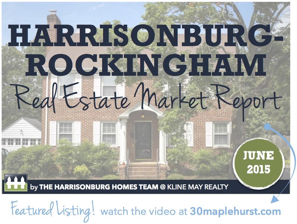 Harrisonburg Real Estate Market Report [INFOGRAPHIC]   June 2015