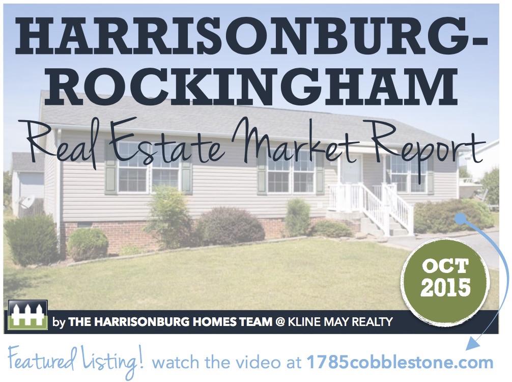Harrisonburg Real Estate Market Report: October 2015 [INFOGRAPHIC]