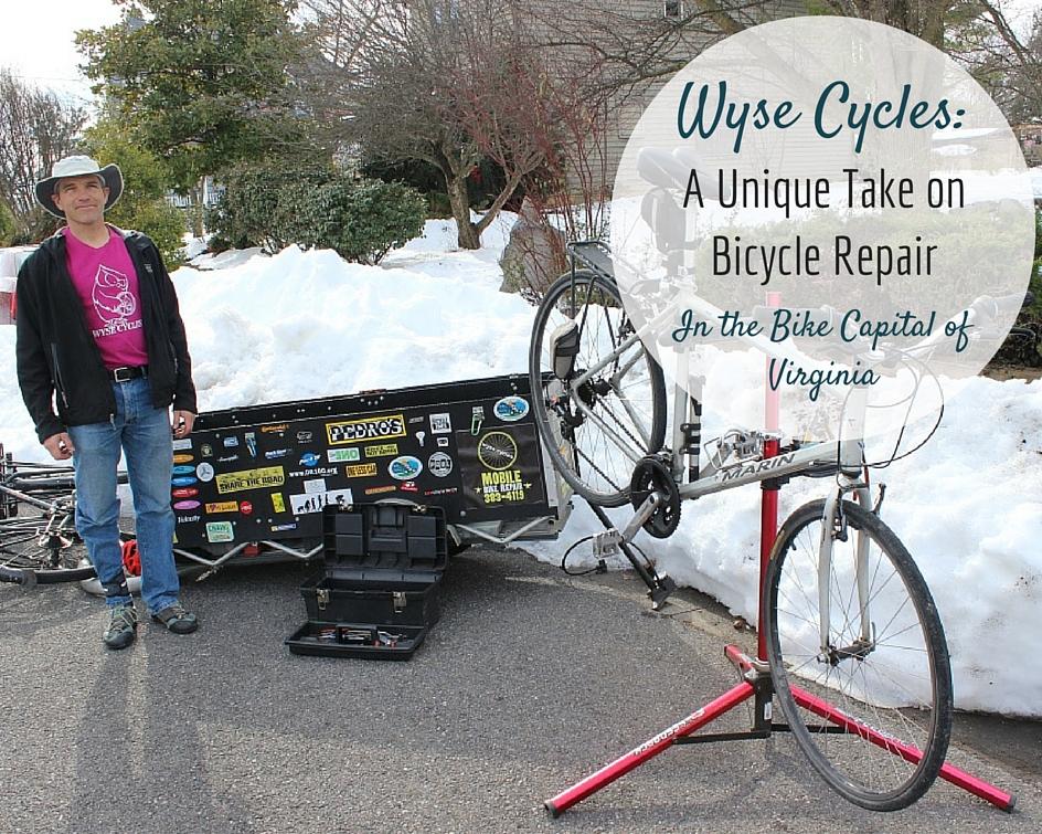 Wyse Cycles: mobile bicycle repair shop in Harrisonburg   Harrisonblog