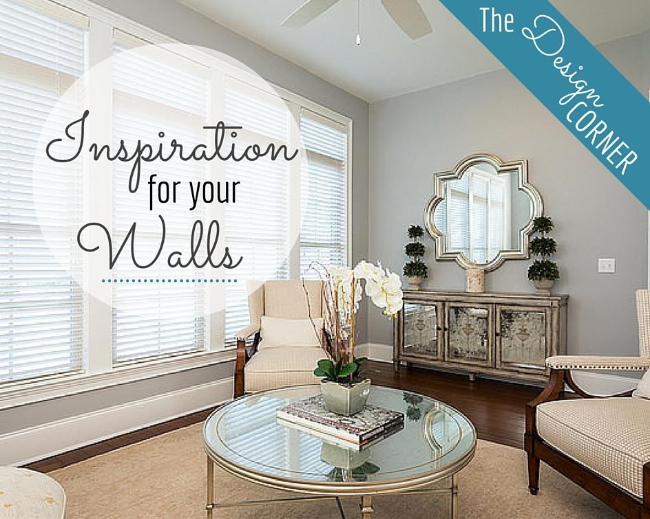 The Design Corner: Inspiration for Your Walls   Staging & Design   Harrisonblog