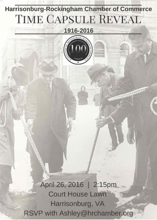Time Capsule from 1966 Revealed on Court Square in Harrisonburg, Virginia | Harrisonblog