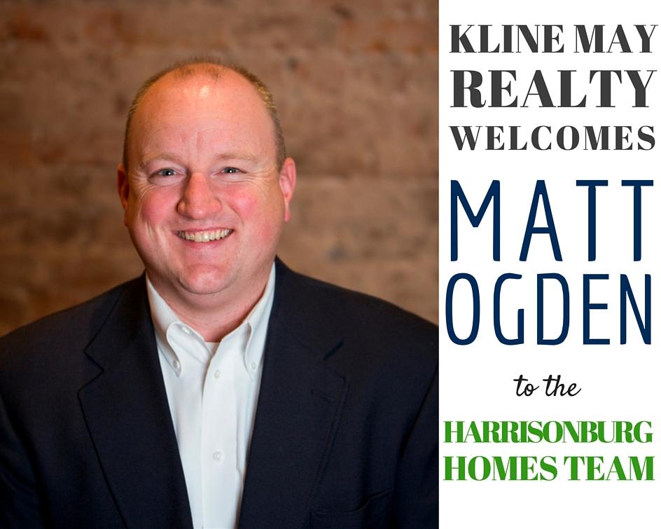Matt Ogden Joins The Harrisonburg Homes Team @ Kline May Realty | Harrisonblog