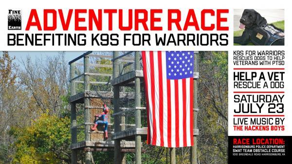 Fine Earth Adventure Race   K9s for Warriors   Harrisonburg