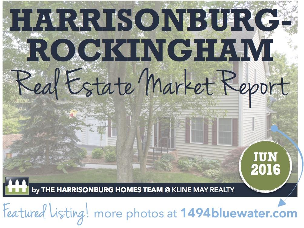 Harrisonburg Real Estate Market Report [INFOGRAPHIC]: June 2016   The Harrisonburg Homes Team @ Kline May Realty