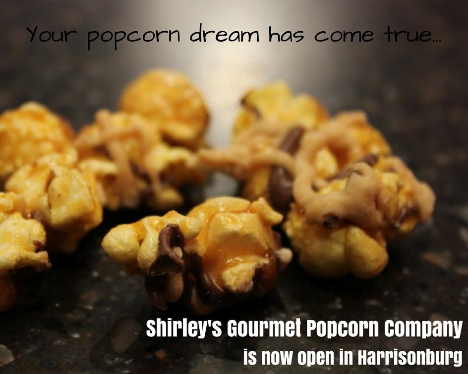 Shirley's Gourmet Popcorn   Harrisonburg