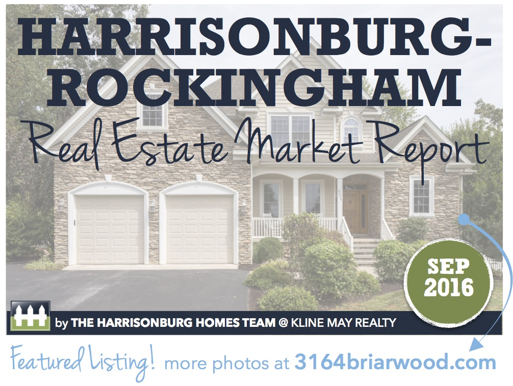 Harrisonburg Real Estate Market Report [INFOGRAPHIC]: September 2016   Harrisonblog