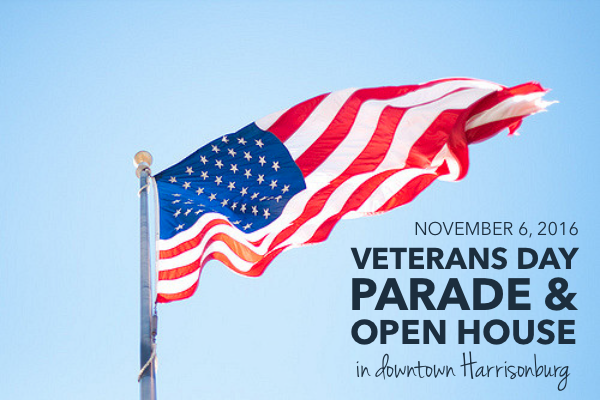 Annual Veterans Day Parade & Open House in Downtown Harrisonburg | Harrisonblog