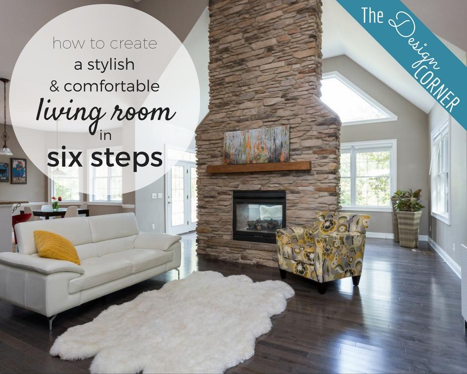 The Design Corner   Living Room Design