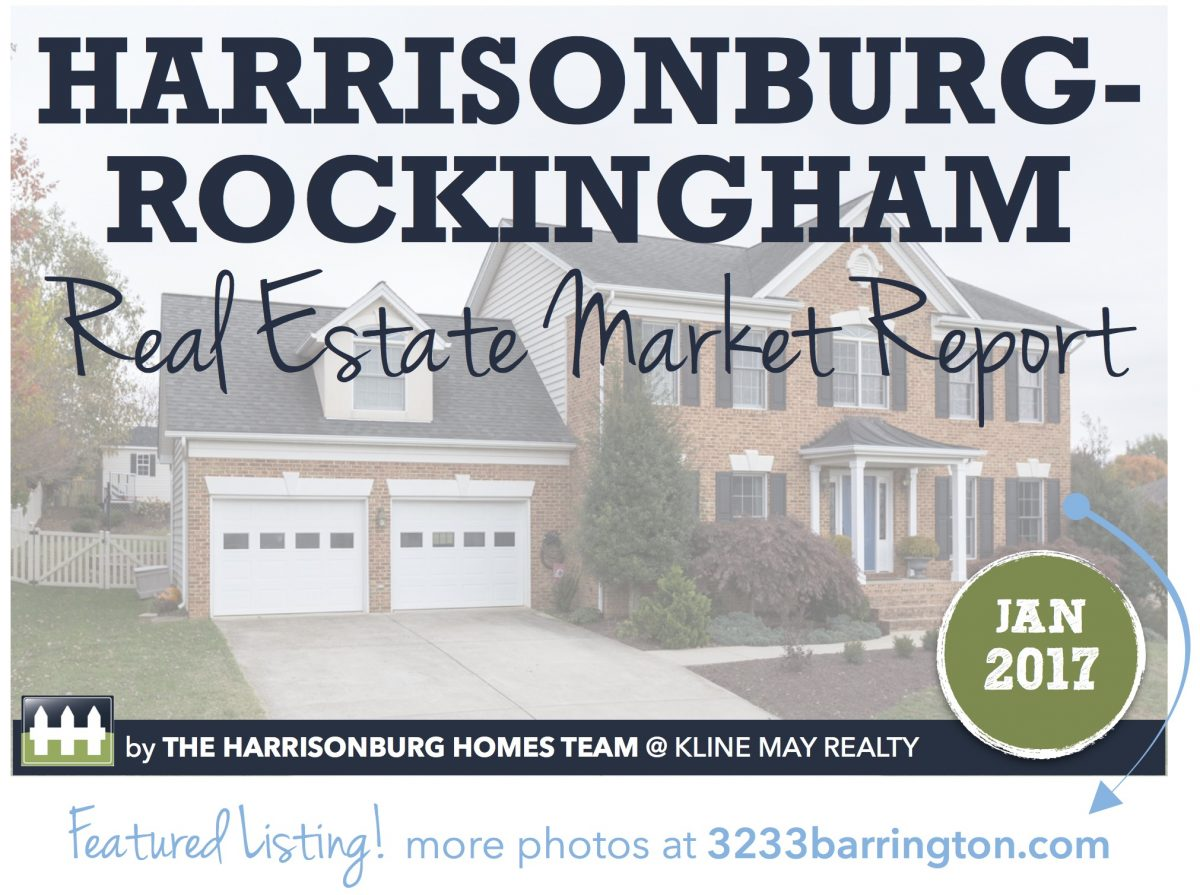 Harrisonburg Real Estate Market Report [INFOGRAPHIC]: January 2017 | Harrisonblog