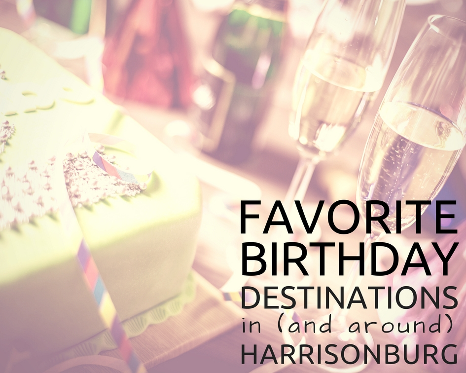 Birthdays in Harrisonburg