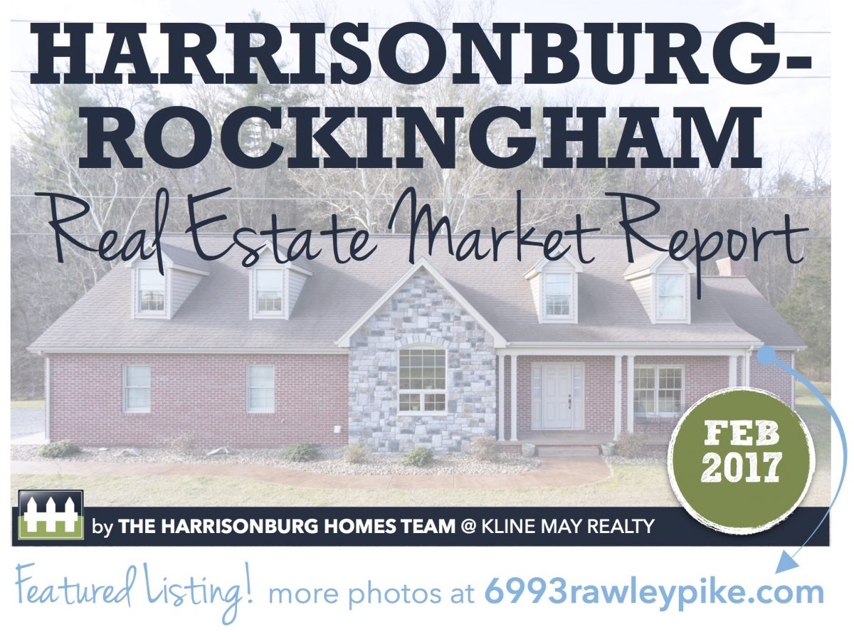 Harrisonburg Real Estate Market Report [INFOGRAPHIC]: February 2017 | The Harrisonburg Homes Team @ Kline May Realty