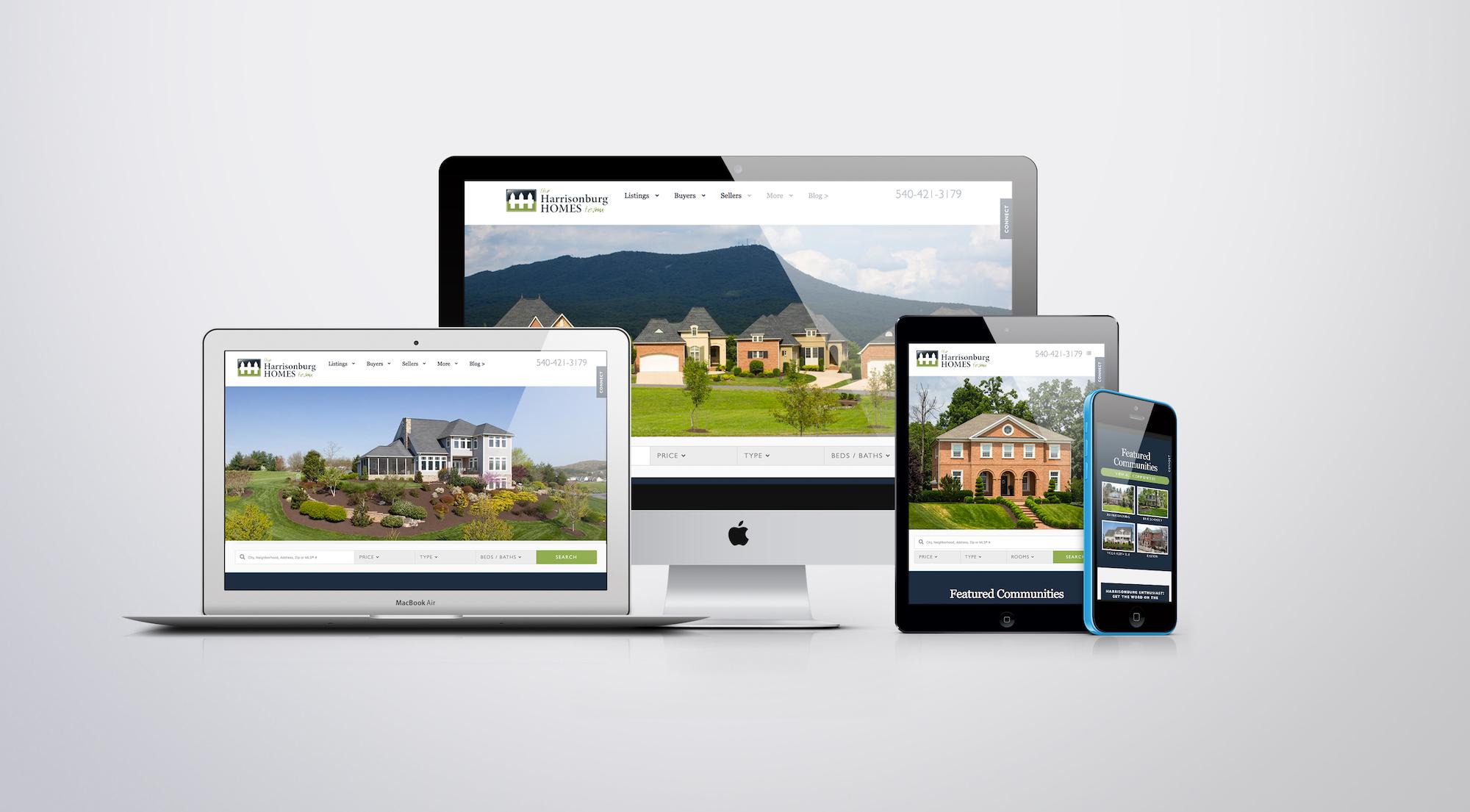 New Real Estate Site Launch   HarrisonburgHomes.com   The Harrisonburg Homes Team @ Kline May Realty