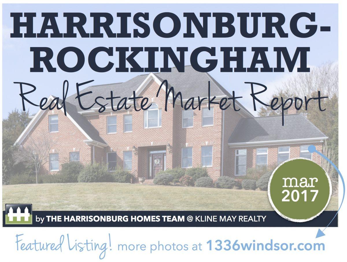 Harrisonburg Real Estate Market Report: March 2017 | Harrisonblog