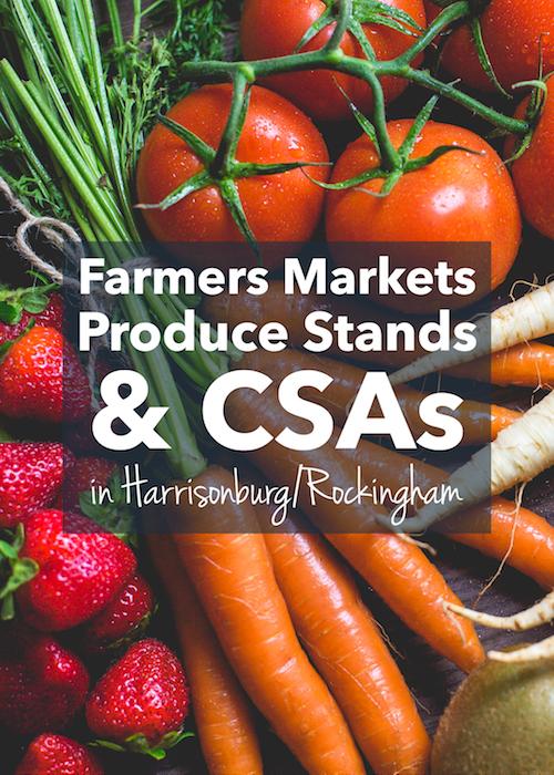 Farmers Markets, Produce Stands & CSAs in Harrisonburg, Virginia | Harrisonblog