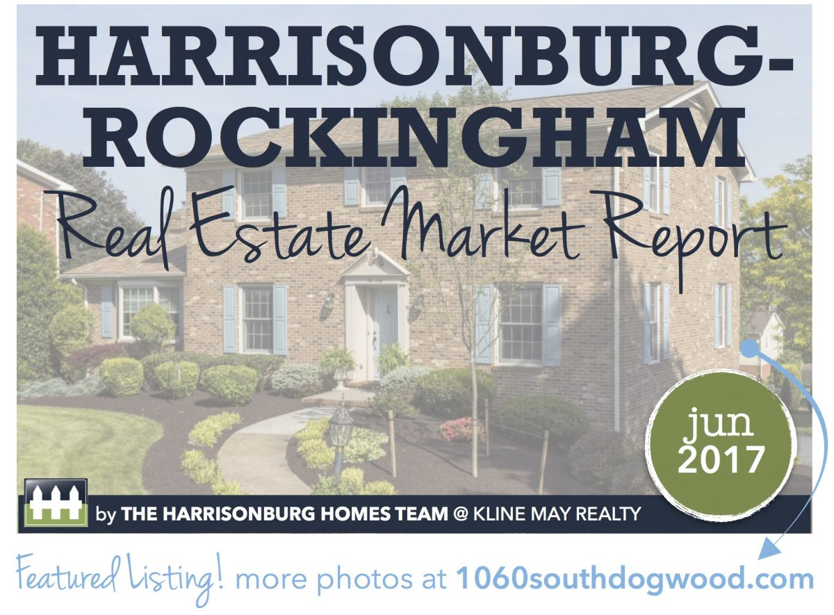 Harrisonburg Real Estate Market Report: June 2017 [INFOGRAPHIC] | Harrisonblog