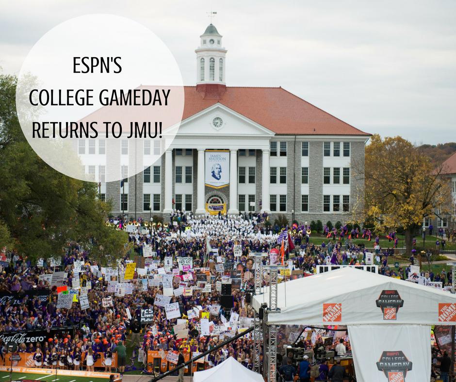 College GameDay Returns to JMU | Harrisonblog.com