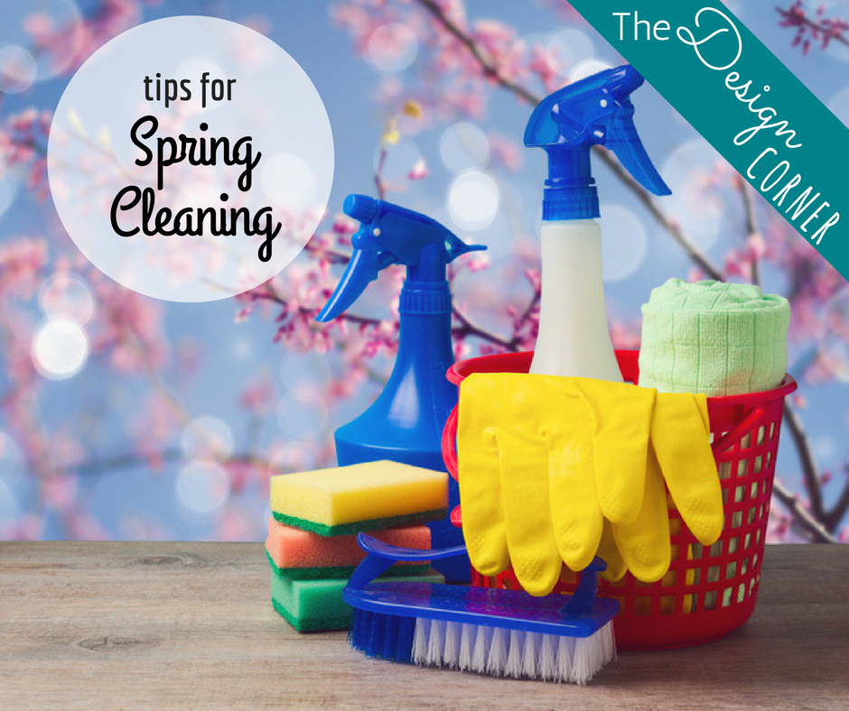 Spring Cleaning Design Corner | Harrisonblog.com
