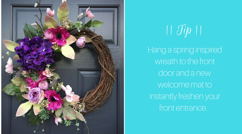 Spring Wreath | Harrisonblog.com