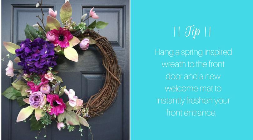 Spring Wreath | Harrisonblog.com