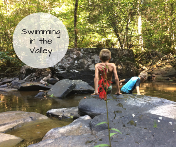 swimming in the valley | Harrisonblog.com