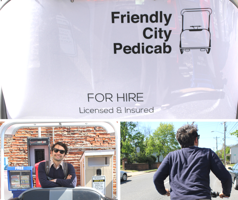 Friendly City Pedicab | Harrisonblog.com