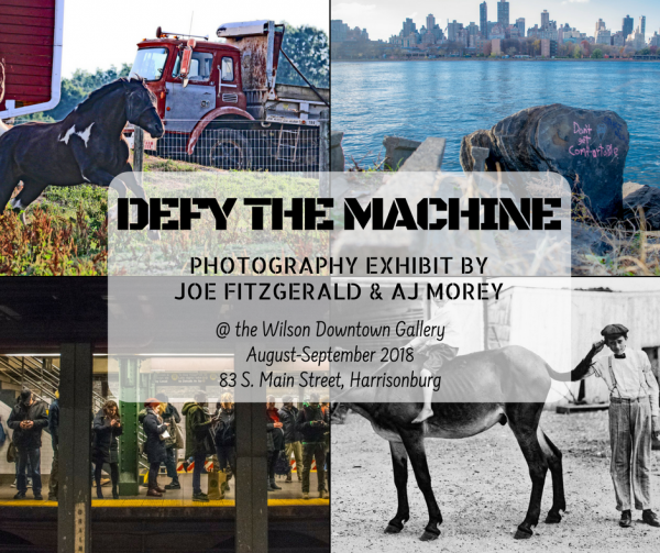 Defy the Machine   Wilson Downtown Gallery