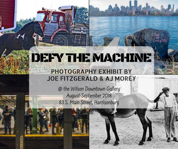 Defy the Machine | Wilson Downtown Gallery