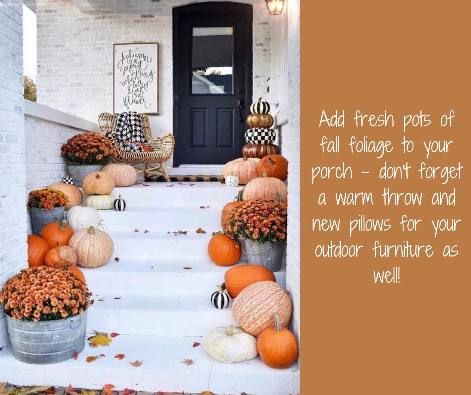 Fall decorations | Harrisonblog.com