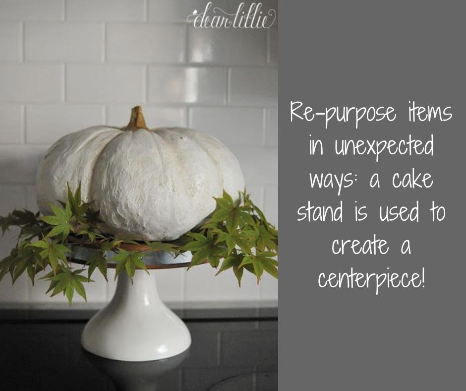 pumpkin cake stand   Harrisonblog.com