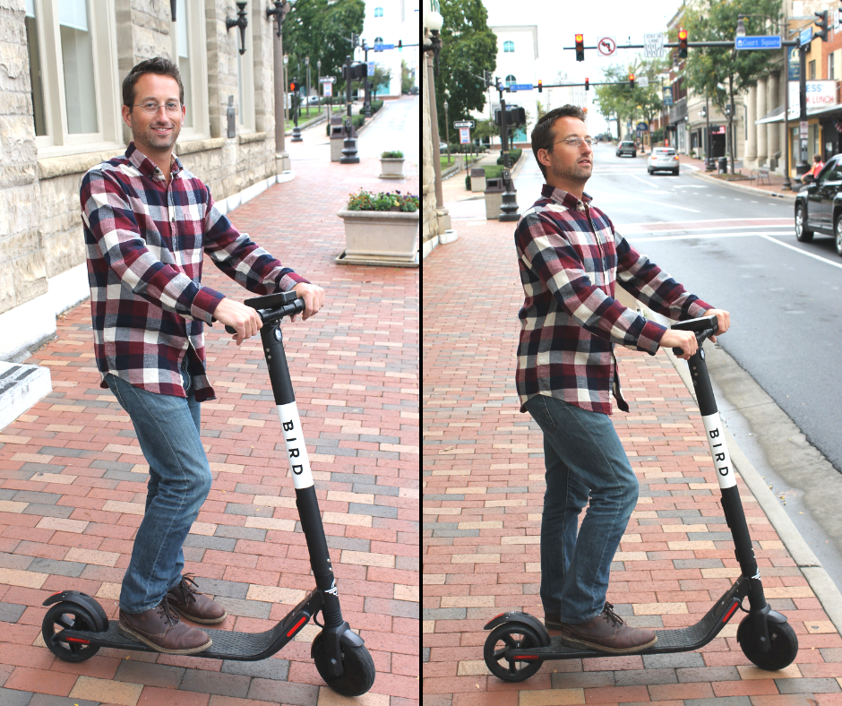 Bird Scooter | Harrisonburg Homes team