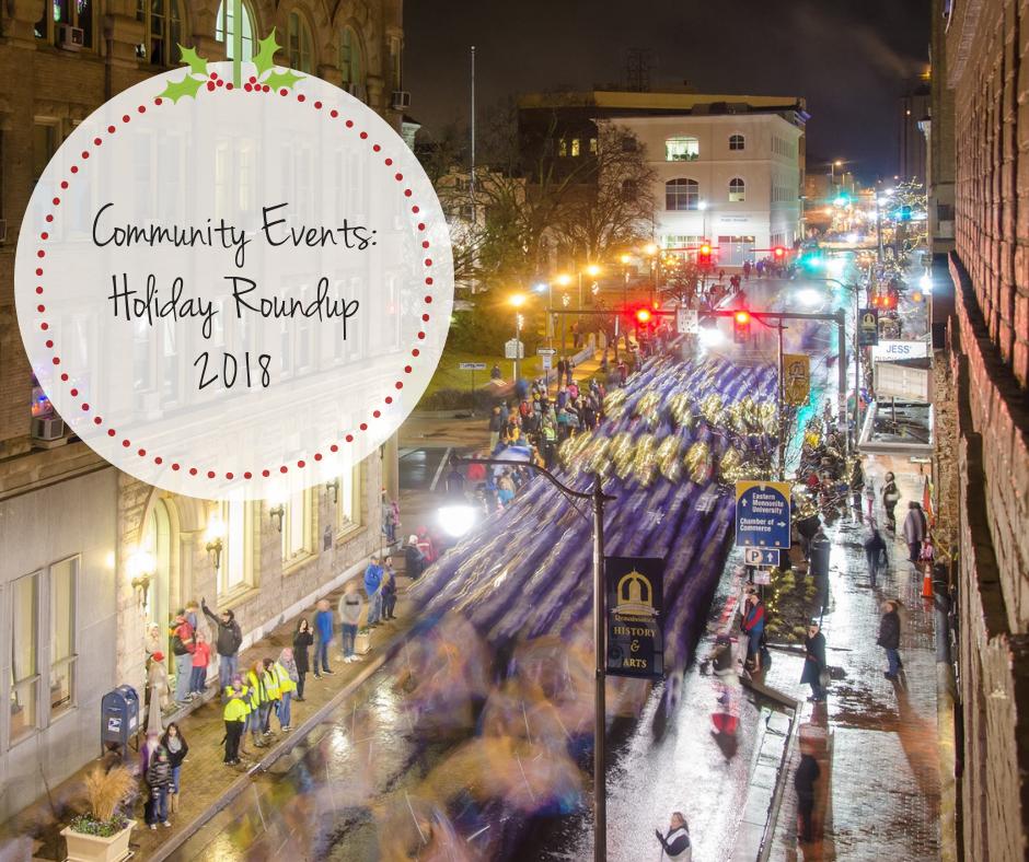 Community Event Holiday Roundup 2018