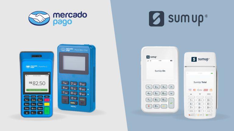 Mercado Pago Point ou SumUp, qual a melhor máquina de cartão?