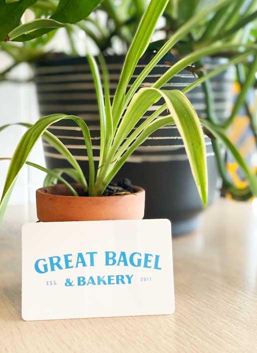 Get a Great Bagel & Bakery gift card! Lexington, KY
