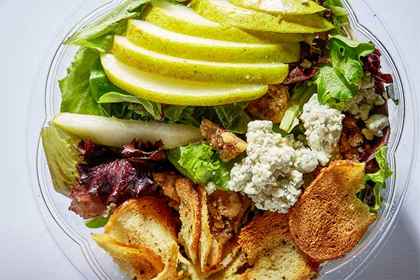 bagel salad from Great
