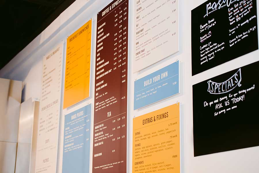 Great Bagel & Bakery menu