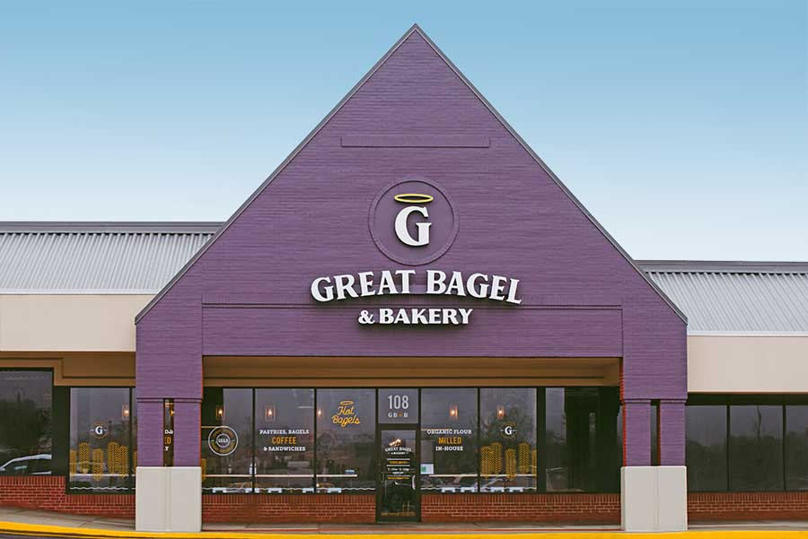 Welcome to Great Bagel & Bakery! Boston Road storefront