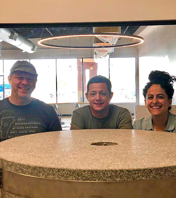 Flour mill. Meet the owners at Great Bagel & Bakery in Lexington, KY