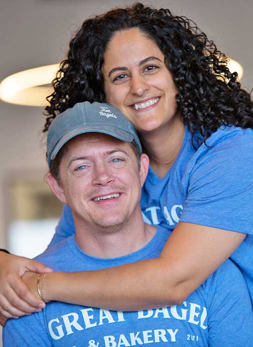 Robert & Lara Swan, owners and operators of Great Bagel & Bakery. Lexington, Kentucky.
