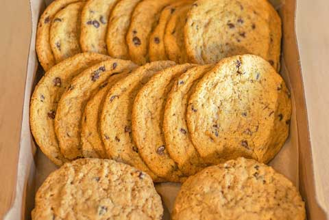 Cookies. Baked from scratch in house, our desserts are rich, delectable and sweet... they're just as great as our bagels! Great Bagel & Bakery in Lexington, KY